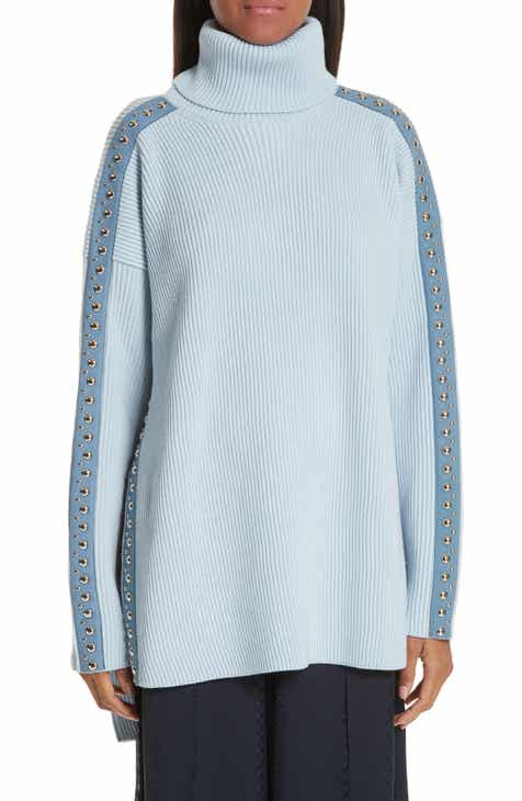 Stella McCartney Stud Detail Turtleneck Sweater by STELLA MCCARTNEY