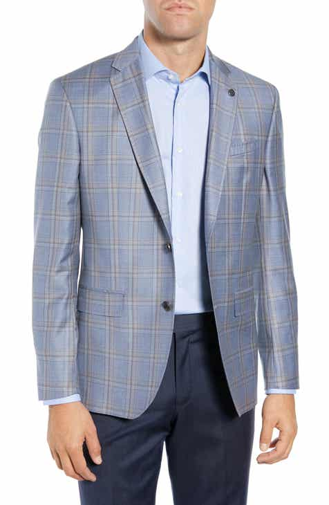 d1c649fafc4c39 Ted Baker London Jay Trim Fit Plaid Wool Sport Coat