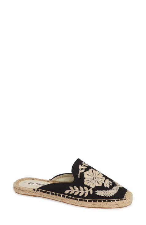 3a02fb2506f Soludos Tuileries Embroidered Mule (Women)