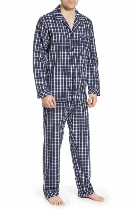 Majestic International Marcus Cotton Pajamas 813a0ea538a