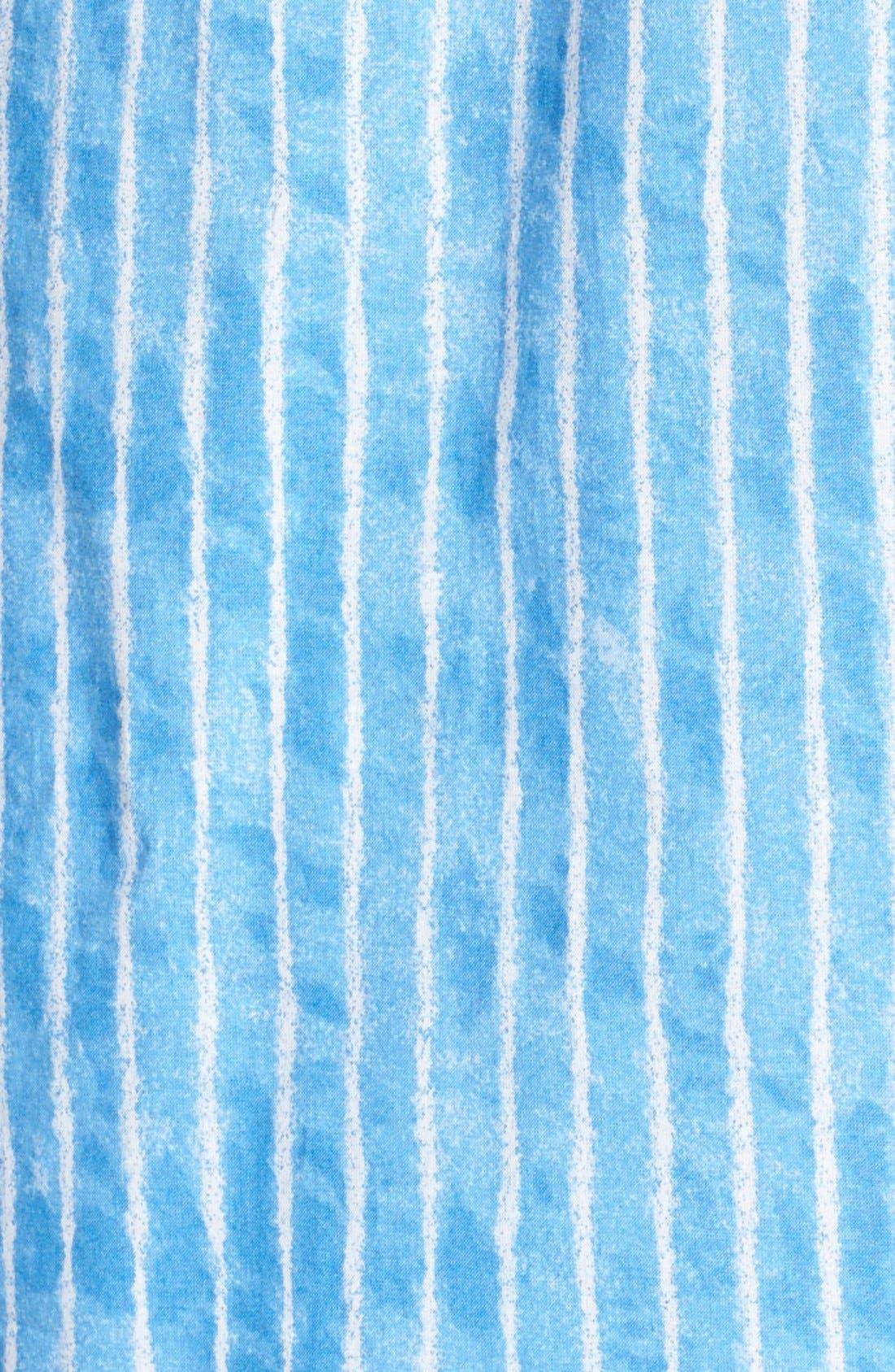 Alternate Image 3  - Lauren Ralph Lauren Notch Collar Capri Pajamas