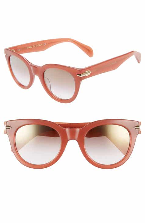 c864acd09155 rag   bone Core 50mm Cat Eye Sunglasses