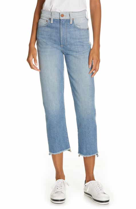 0f2e51546778 Alice + Olivia Jeans Amazing Two-Tone Girlfriend Jeans (Well Played)