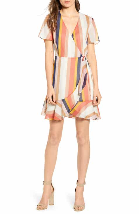 2ae5b1503543 All in Favor Isabella Wrap Dress