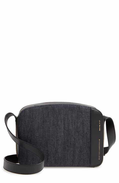 4054e9148e Victoria Beckham Vanity Denim   Leather Camera Bag