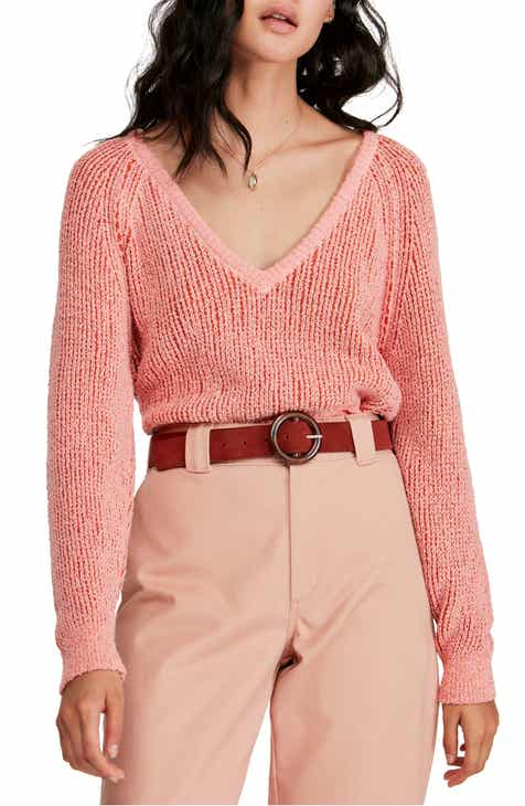 Free People V-Neck Sweater c77e8022e