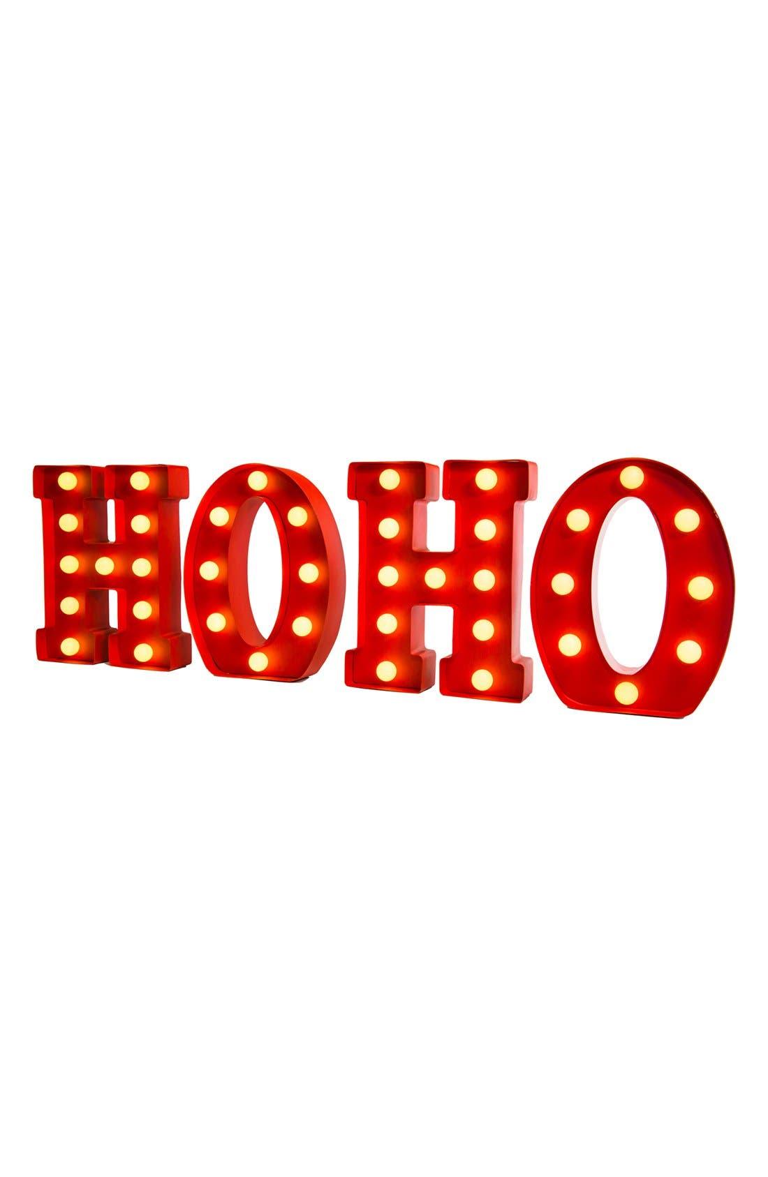 Main Image - Mr. Christmas Light Up 'Ho Ho' Marquee