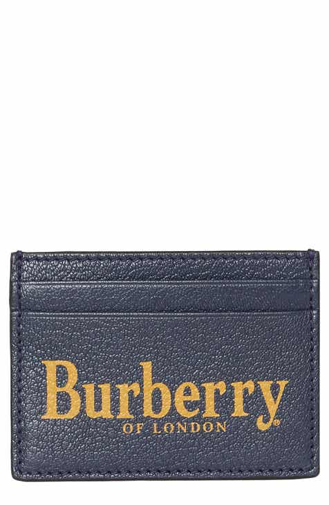 1b8f0e8c90f7 Burberry Sandon Leather Card Case