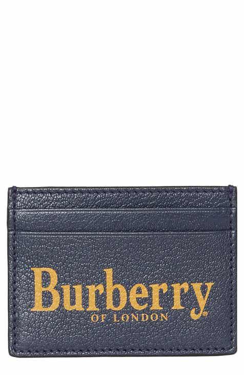 99d41c7b36fe Burberry Sandon Leather Card Case