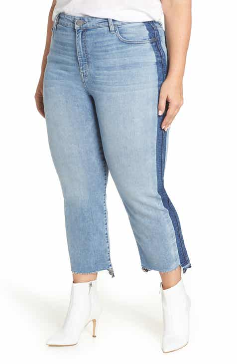 02532ea845e Sanctuary Modern High Waist Crop Jeans (Split Personality) (Plus Size)