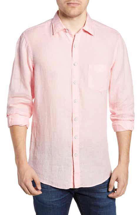 Rodd & Gunn Pinnacle Hill Regular Fit Linen Sport Shirt
