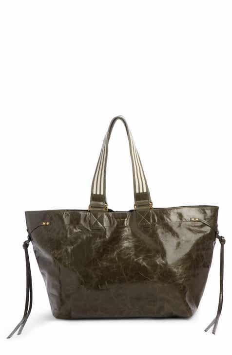 06cf877c8db Isabel Marant Wardy New Leather Shopper