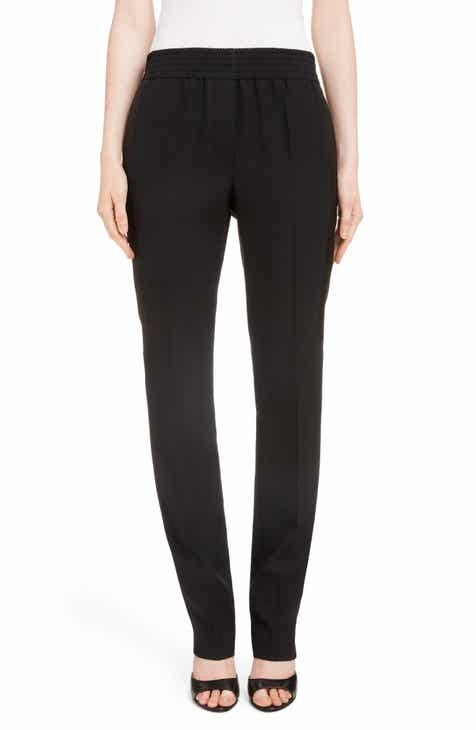 Givenchy Contrast Stripe Elastic Waist Pants by GIVENCHY