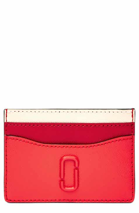 17f06e930ae2 MARC JACOBS Snapshot Leather Card Case