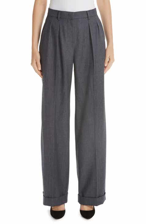 Max Mara Vivy Wide Leg Wool Pants by MAX MARA