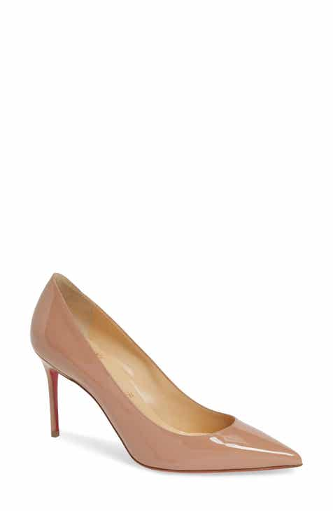 Christian Louboutin 'Decollete' Patent Leather Pump (Women)