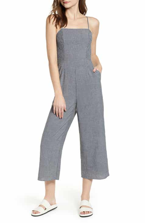 2acb3b106fc5 The Fifth Label Laneway Stripe Smocked Crop Jumpsuit