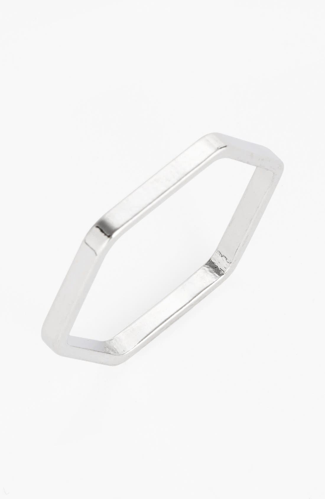 Alternate Image 1 Selected - BP. Hexagon Ring (Juniors)