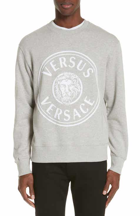 df8ef99391f24 VERSUS Versace Appliqué Lion Logo Sweatshirt