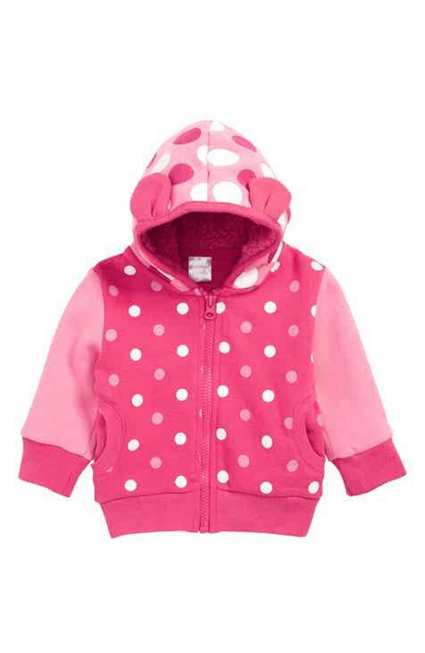 Blade & Rose Pink Spot Zip Hoodie (Baby)