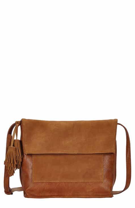 ANTIK KRAFT Suede Crossbody Bag 0b853b702a136