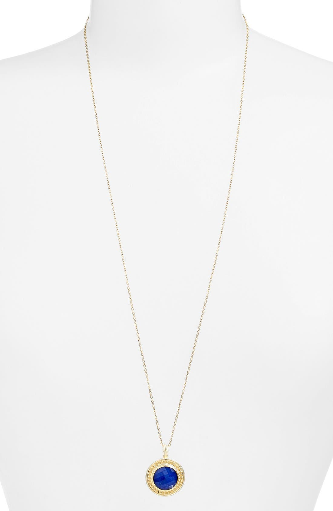 Alternate Image 1 Selected - Anna Beck 'Gili' Green Onyx Pendant Necklace (Nordstrom Exclusive)