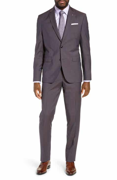 d82aea78a7be15 Ted Baker London Jay Trim Fit Solid Wool Suit