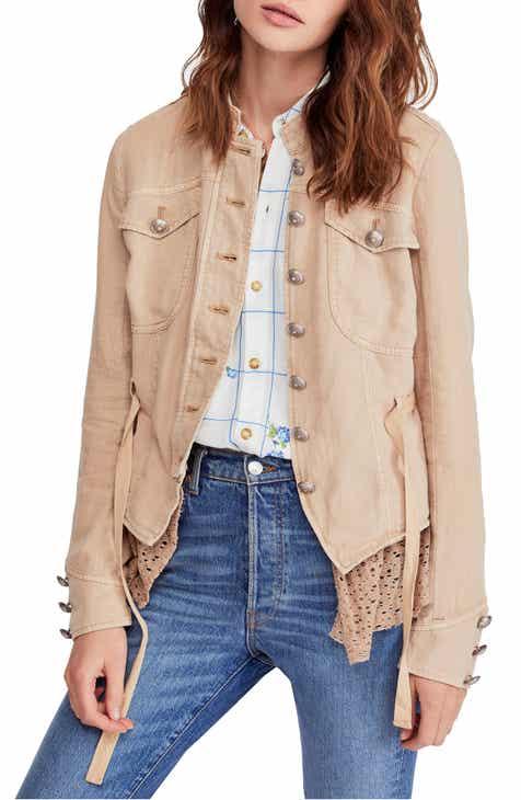 cf8383040548d Women s Linen Coats   Jackets