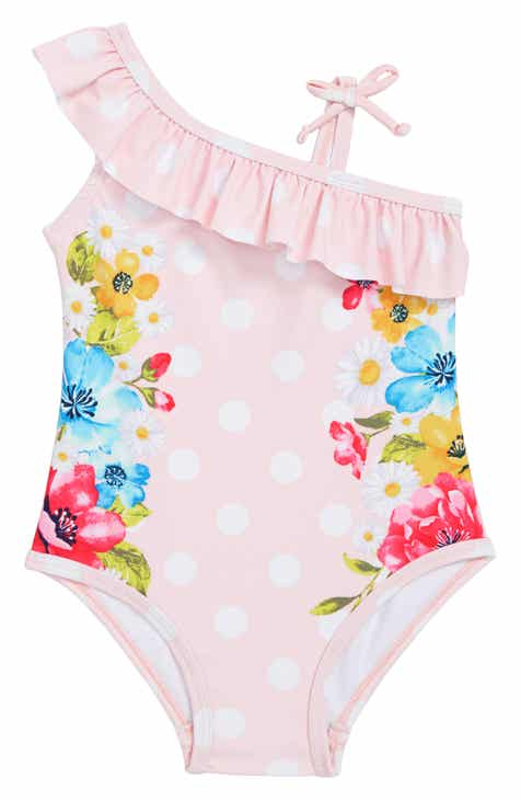 Little Me Ruffle One-Piece Swimsuit (Baby)