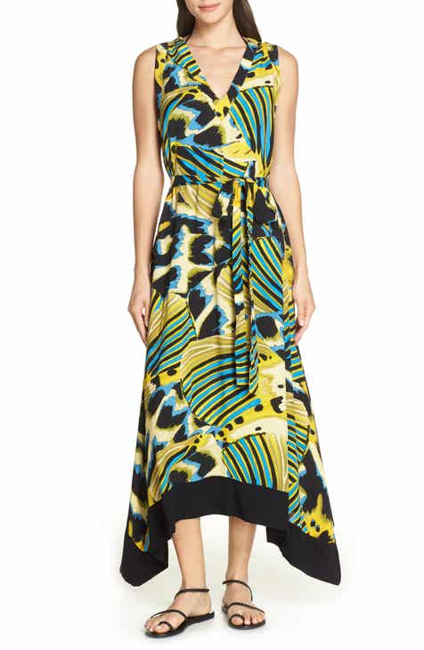 Lenny Niemeyer Barred Cover-Up Maxi Dress