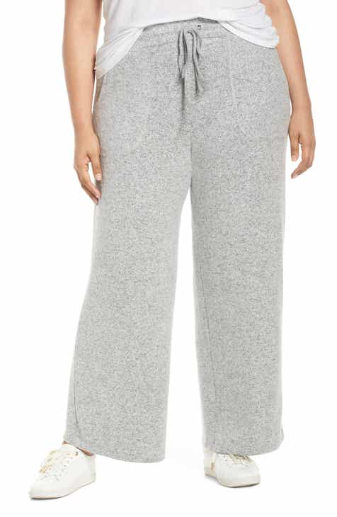 Lemon Tart Norah Knit Lounge Pants (Plus Size) by LEMON TART
