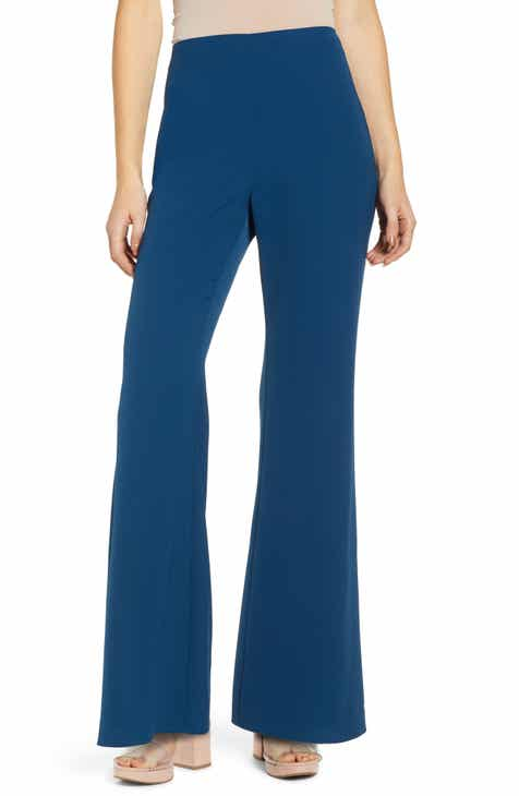 798a87a4755 Leith High Waist Flare Leg Pants (Regular   Plus Size)