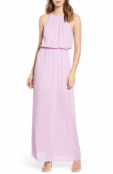 173402b79b All in Favor Blouson Maxi Dress
