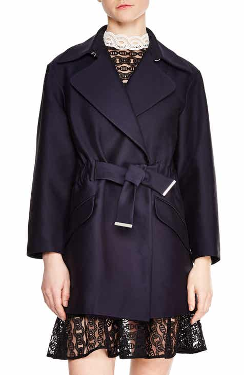 sandro Marius Short Trench Coat by SANDRO