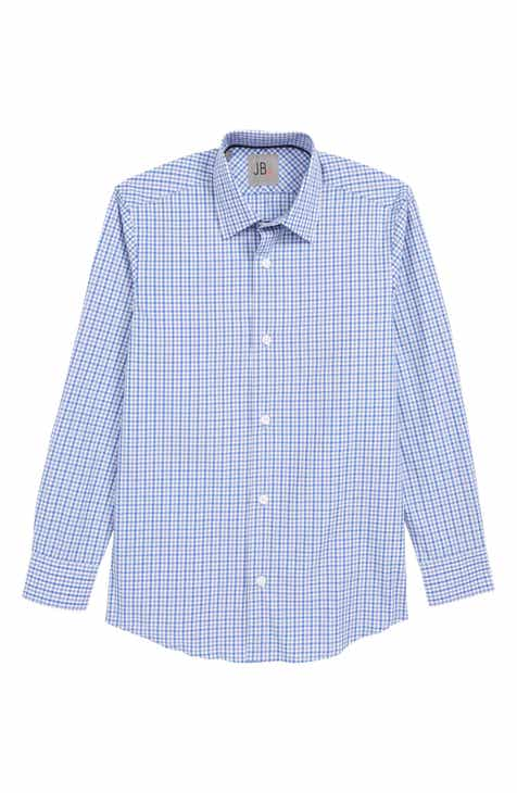 998e671a63f2e8 JB Jr Check Dress Shirt (Big Boys)