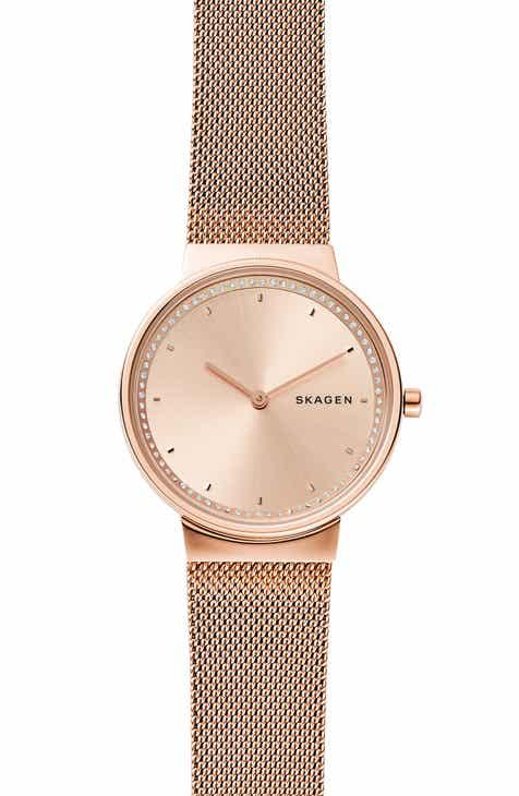 3e802536ea7 Skagen Annelie Mesh Bracelet Watch