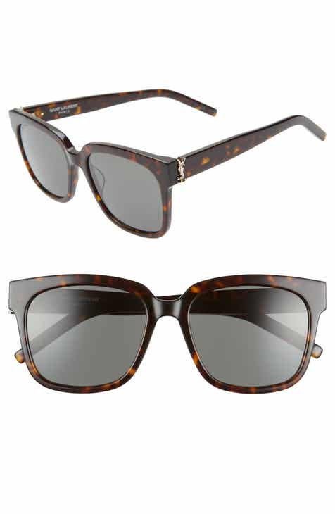 8ec973fe67 Saint Laurent 54mm Square Sunglasses