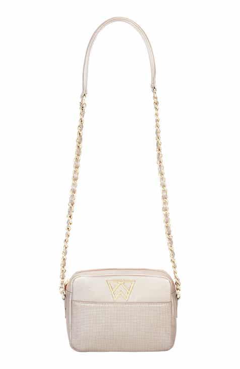 73735430be6 Kelly Wynne Mingle Mingle Mini Embossed Leather Crossbody Bag