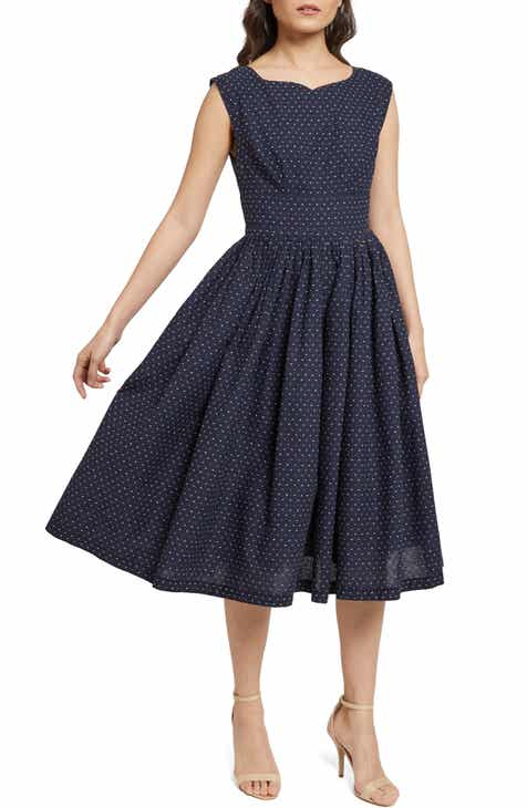 ea4d94a48be ModCloth Fabulous Fit   Flare Dress (Regular   Plus Size)