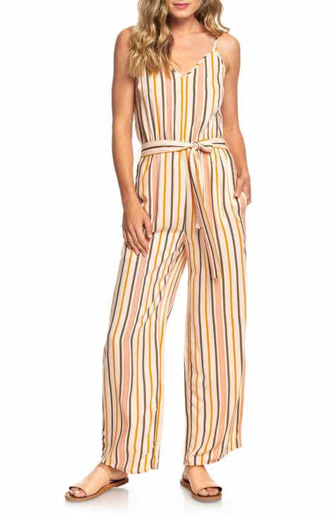 CUSHNIE Colorblock Strapless Wide Leg Silk Jumpsuit by CUSHNIE