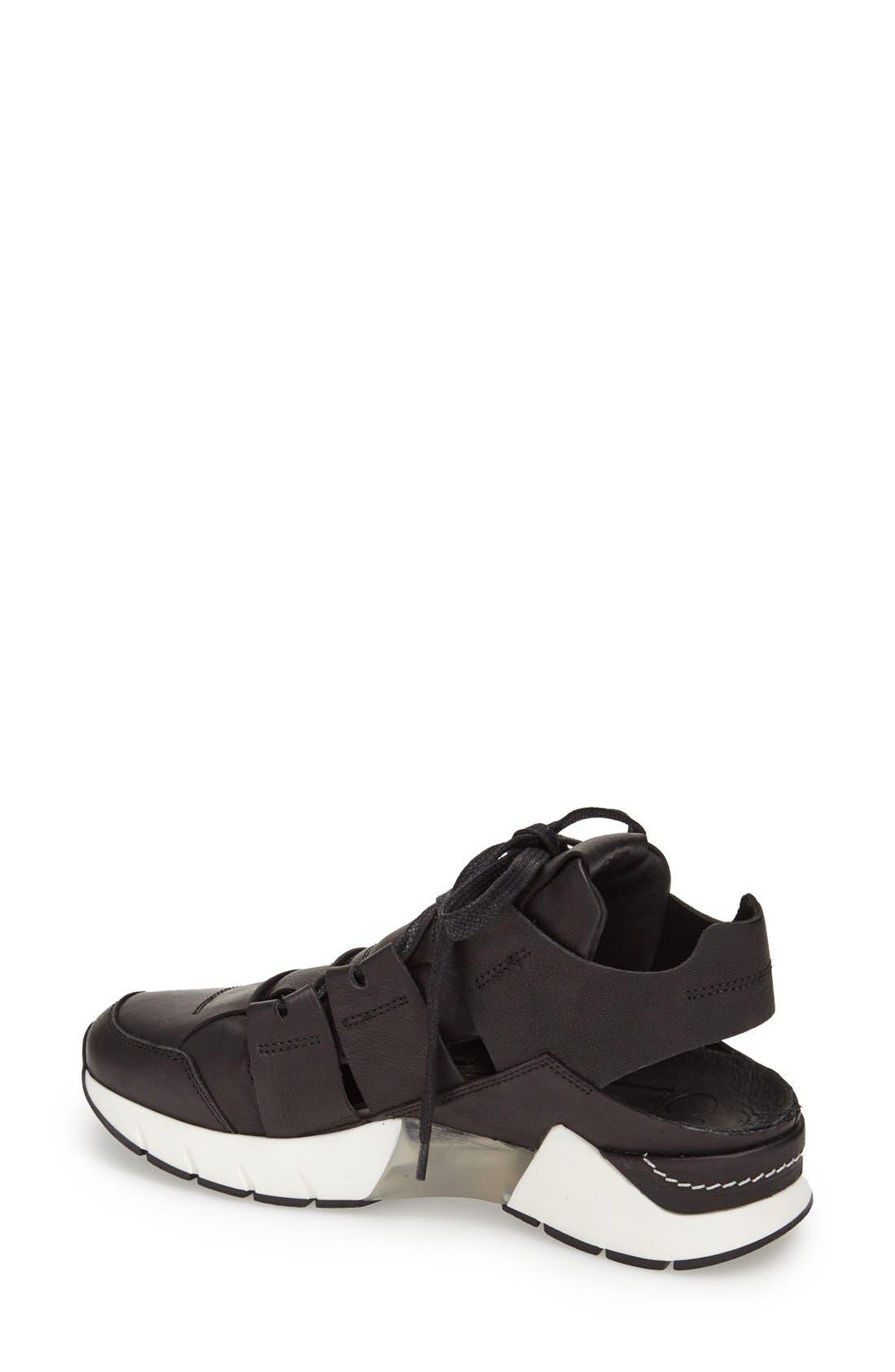 Alternate Image 2  - CA by CINZIA ARAIA Cutout Leather Sneaker (Women)