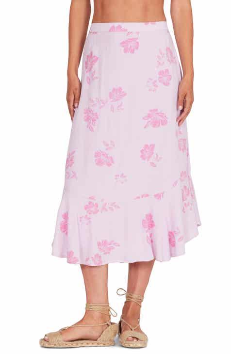 9185b5f76bcc Amuse Society Jardines Del Ray Midi Skirt