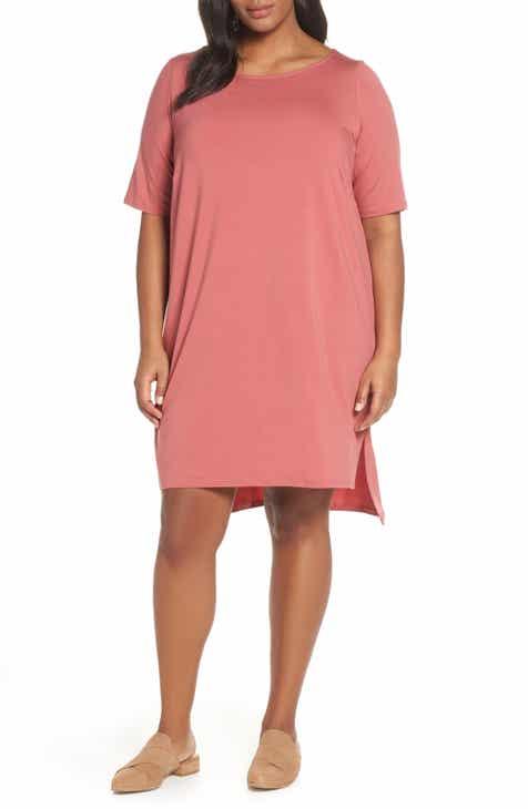 bb45b816bff88 Eileen Fisher Shift Dress (Plus Size)