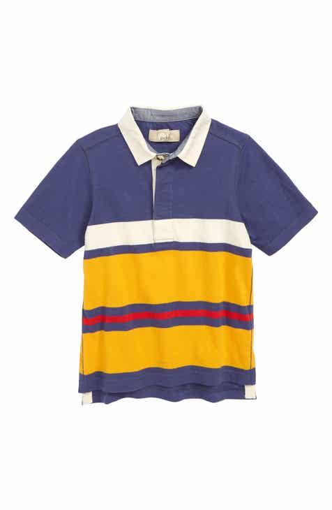 Peek Aren't You Curious Colton Stripe Polo Shirt (Toddler Boys, Little Boys & Big Boys)