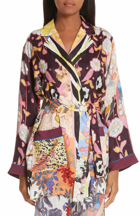 Etro Belted Print Jacket by ETRO