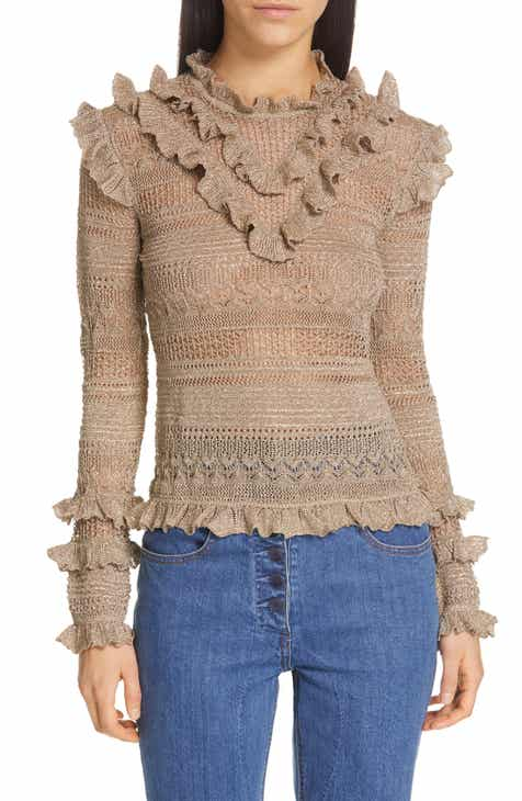 933f8ff2db25 Ulla Johnson Austen Ruffle Sweater