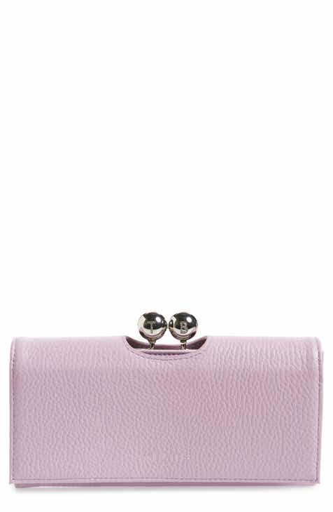 83ef999430e9a6 Ted Baker London Josiey Bobble Matinée Leather Wallet