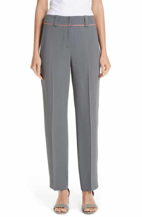 Emporio Armani Piped Ankle Pants by EMPORIO ARMANI
