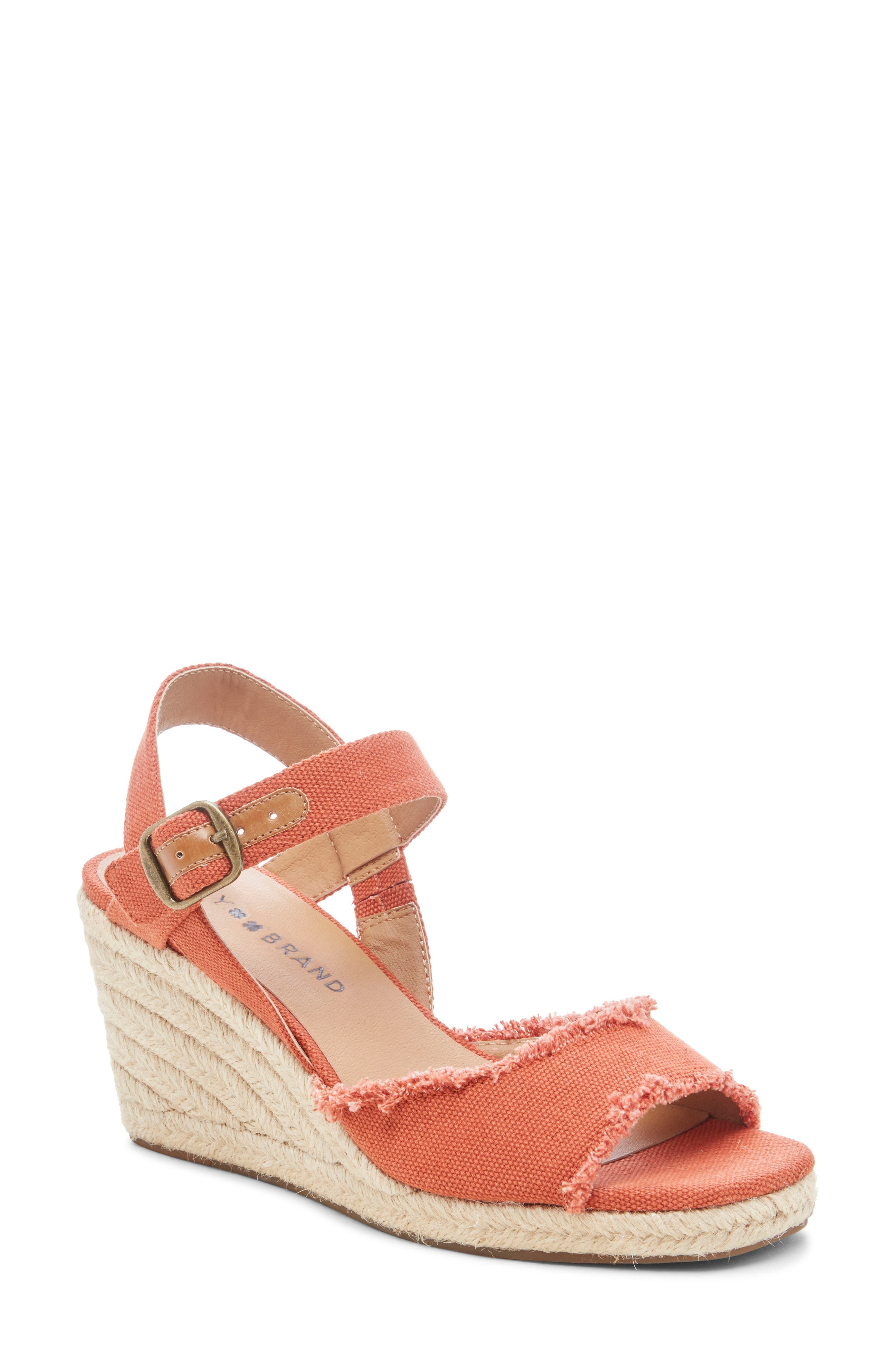 5f8c76a1f9fd5 Women's Orange Lucky Brand Shoes | Nordstrom