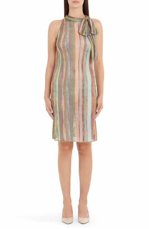 3c78335e676 Missoni Stripe Tie Neck Sweater Dress (Nordstrom Exclusive)